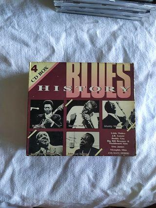 Blues History 4CD box