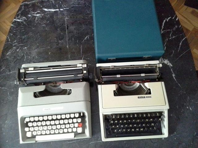 Máquinas de escribir olivetti lettera 35 y DORA