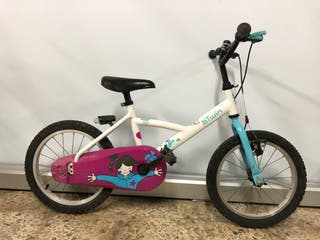 Bicicleta btwin 16'