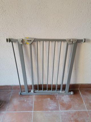 Barrera de seguridad Hauck para escaleras/ puerta