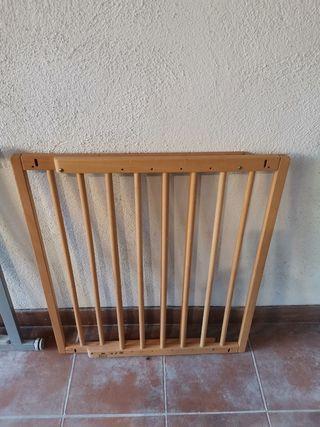 Barrera de seguridad para escaleras expandible