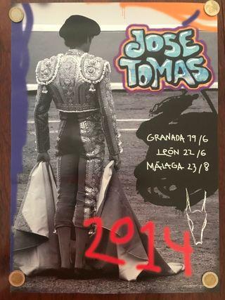 Cartel del torero José Tomás