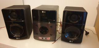 Equipo música LG. MP3