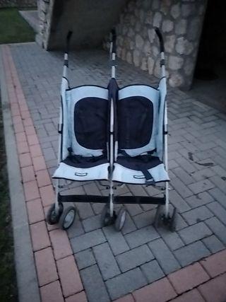 silla doble de paseo y parque