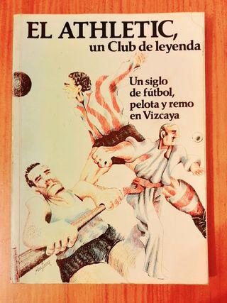 libro antiguo athletic Bilbao. pelota y remo