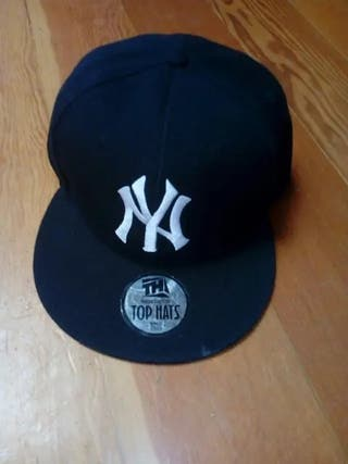 Gorra NY (New York, beisbol, negra)