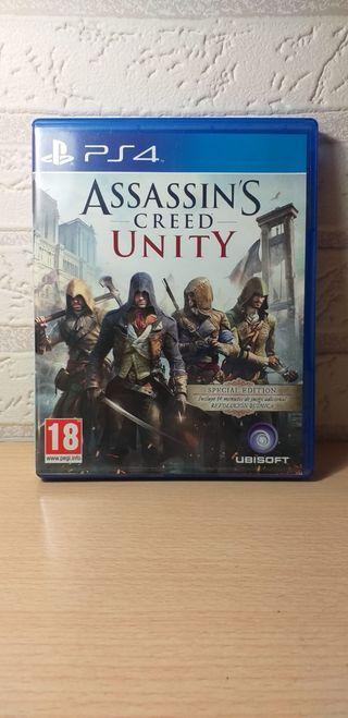 Juego PS4: Assassin's Creed Unity
