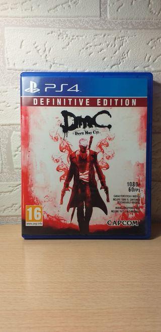Juego PS4: DMC (Devil May Cry)