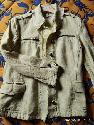 chaqueta lino de Caramelo casi sin uso
