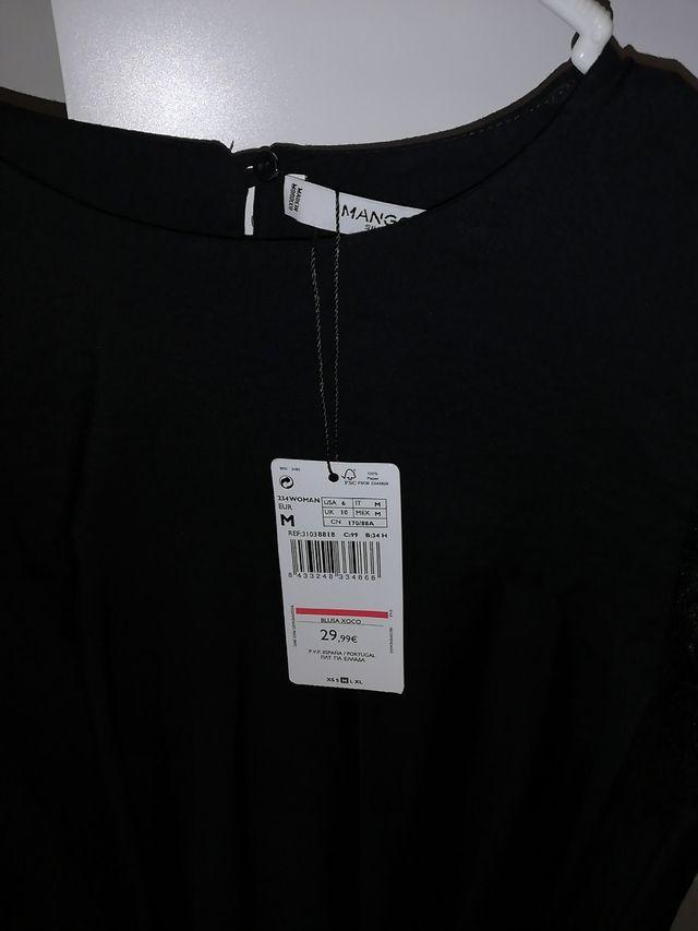 Camisa mujer Mango