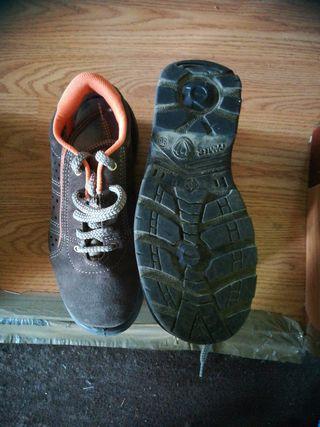 calzado de trabajo seguridad