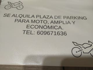 plaza parking moto