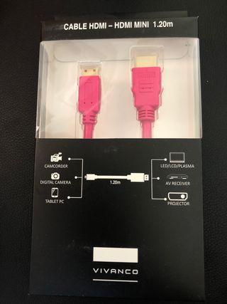 Adaptador HDMI / mini HDMI