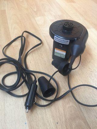 Hinchador eléctrico conexión automovil