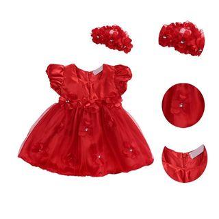 vestido niña bebé nuevo princesa 12/18/24 meses