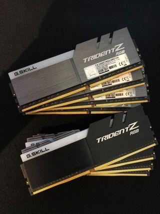 G.Skill Trident Z RGB 64GB. F4-3200C14Q2-64 RAM