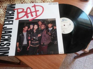 "Michael Jackson "" Bad"" disc Vinil"