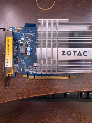 Tarjeta gráfica pci-express GeForce 9400 GT 512m