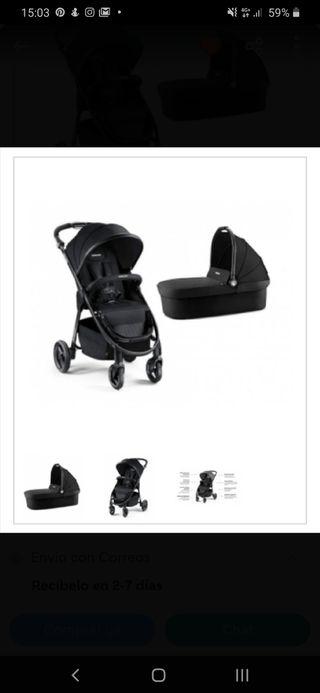 lote silla paseo recaro city life mas capazo bebe