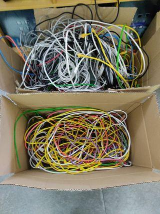 2 cajas de cable red