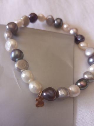 Pulsera perlas Tous