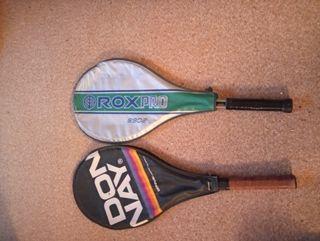Vendo raquetas de tenis en muy buen estado y casi