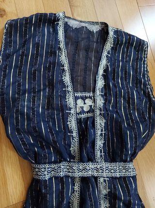 Vestido Seda y Oro Marroquí