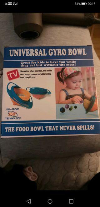kids gyro food bowl