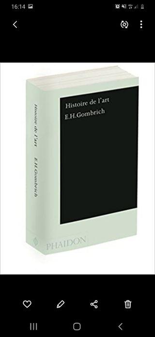 Histoire de l'art : E.H. Gombrich