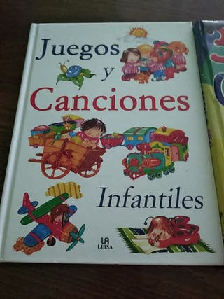2 libros de canciones y chistes por 15€