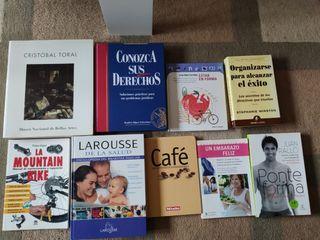 pack de libro variado