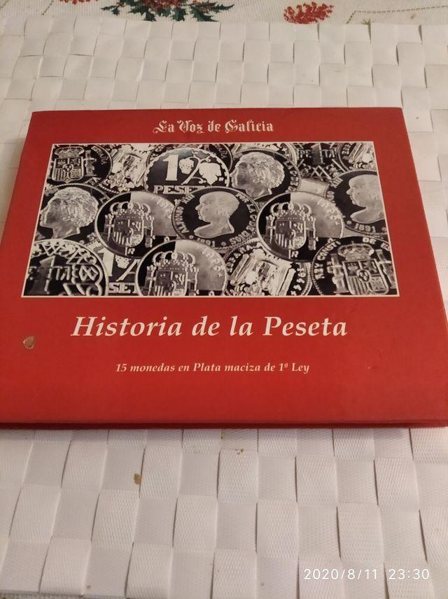 colección arras monedas españolas