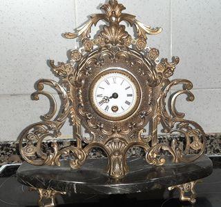 Reloj de cuerda Bronce.