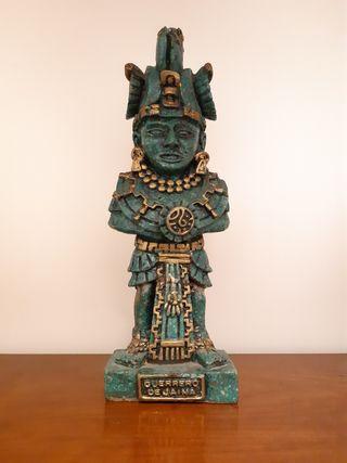 Guerrero de Jaina México cultura maya