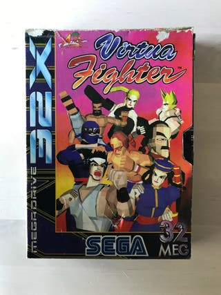Virtua Fighter Megadrive 32X