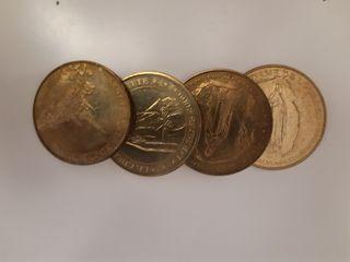 Moneda de notre dame de lourdes