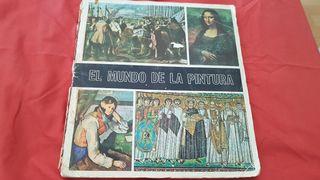 álbum cromos el mundo de la pintura completo 1971