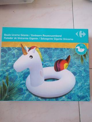 flotador XL unicornio