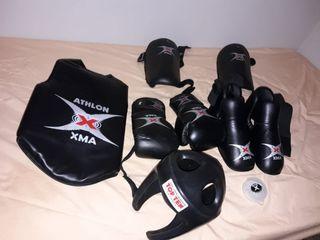Protecciones de kickboxing