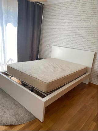 Cama matrimonio 1'40 Ikea MALM