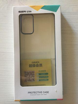 Funda y cristal templado Samsung S20+