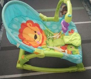hamaca bebe fiserprice con vibracion