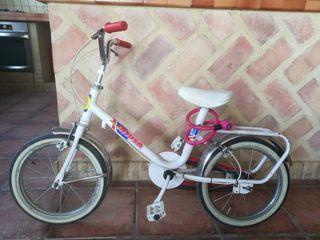 Bicicleta niño paseo Injusa clásica