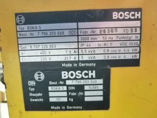 Generador trifasico Bosch