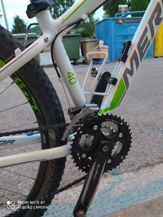 Bicicleta Merida de btt