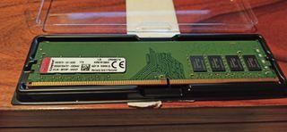 Memoria RAM DDR4 SDRAM, 4 GB - Kingston