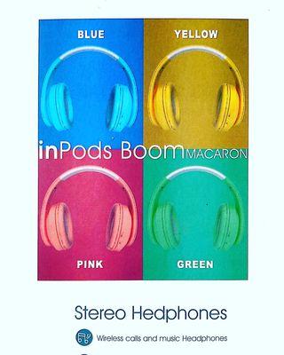 Casco inalámbricos Bluetooth