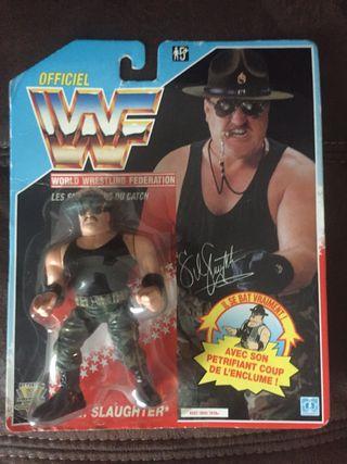 WWF 1992 Sargent Slaughter MOC