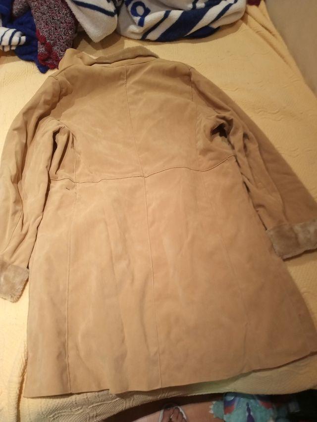 abrigo de mujer muy calentito talla 42-44