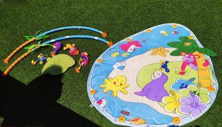 Isla de estimulación para bebés.